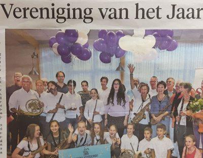 Soli wint verkiezing 'Beste vereniging van Nederland'